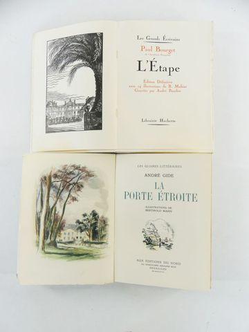 BERTHOLD-MAHN & GIDE (André). La Porte étroite, illustrations de ...