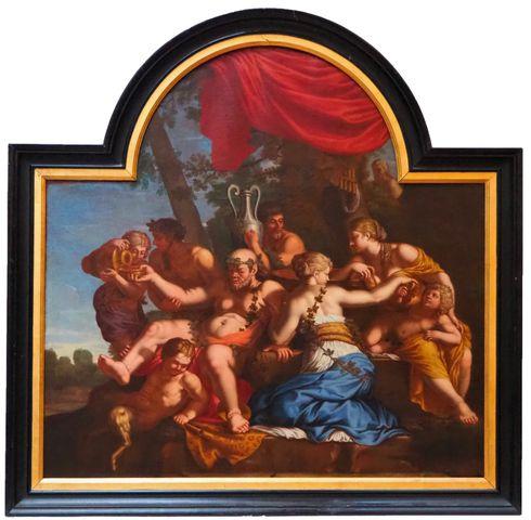 Ecole FRANCAISE XVIIème siècle, entourage de Jean NOCRET (1615-16...