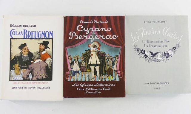 BRISSAUD (Pierre) & ROSTAND (Edmond). Cyrano de Bergerac, comédie...
