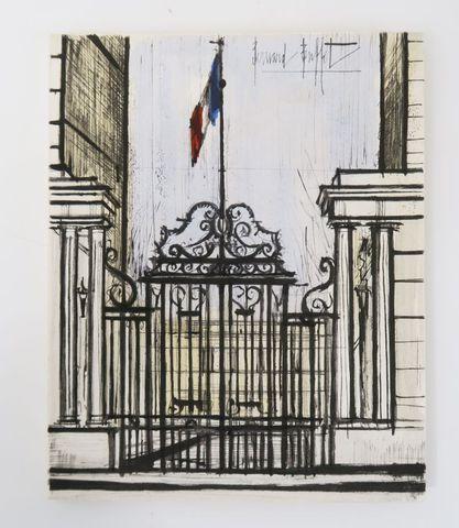 BUFFET (Bernard). L'Hôtel de Beauvau. Ministère de l'Intérieur. P...