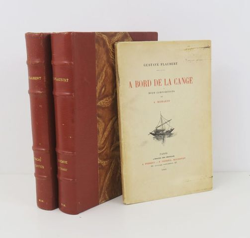CHAHINE (Edgar) & FLAUBERT (Gustave).. Madame Bovary, mœurs de pr...