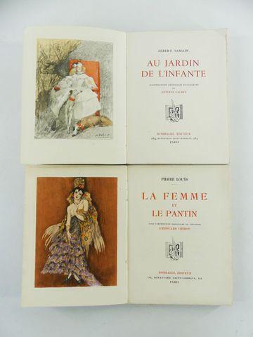 CHIMOT (Édouard) & LOUŸS (Pierre). La femme et le pantin, composi...