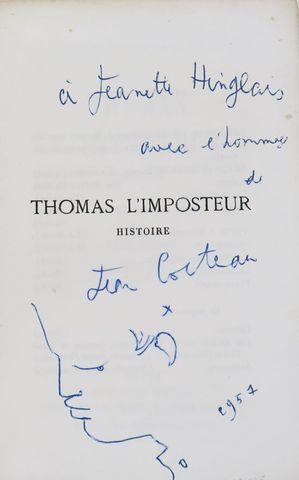 COCTEAU (Jean). Thomas l'imposteur. Paris, nrf, 1923. In-12 broch...