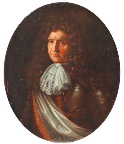 Ecole FRANCAISE XVIIIème siècle Portrait d'homme Huile sur toile ...