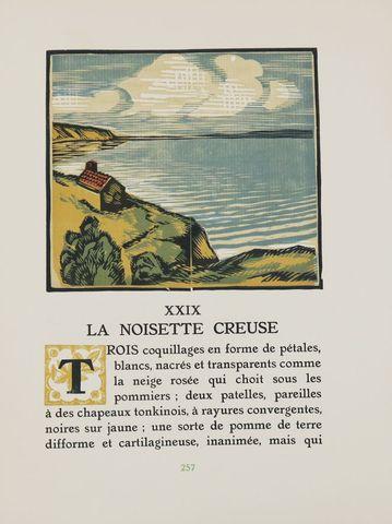 DESLIGNÈRES (André) & COLETTE. La Maison de Claudine. Paris, Rouf...