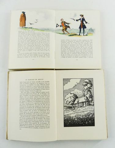 DROIT (Jean) & RÉGNIER (Henri de). L'escapade, illustrations de J...