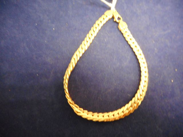 Bracelet or 9,4g.