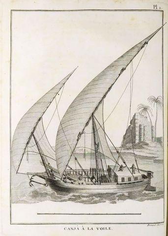 Afrique - BRUCE (James). Voyages en Nubie et en Abyssinie, entrep...