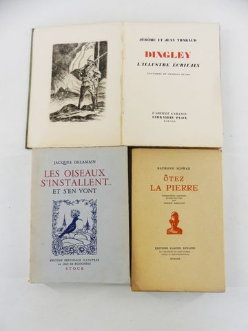 HUARD (Charles) & THARAUD (Jérôme et Jean). DINGLEY, l'illustre é...