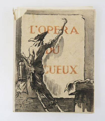IBELS (Louise) & GAY (John). L'Opéra du Gueux. sl, Les bibliophil...