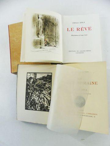 ICART (Louis) & ZOLA (Emile). Le Rêve, illustrations de Louis Ica...