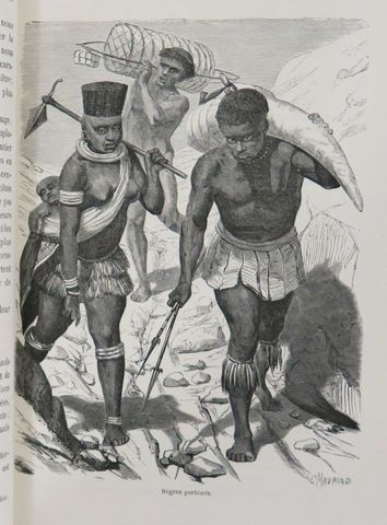 Afrique - BURTON (Capitaine). Voyage aux grands lacs de l'Afrique...