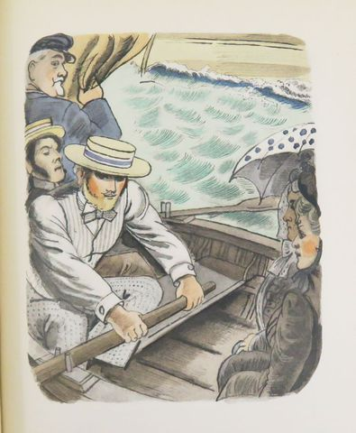 MAUPASSANT (Guy de). Une Vie - Pierre et Jean. Paris, Librairie d...