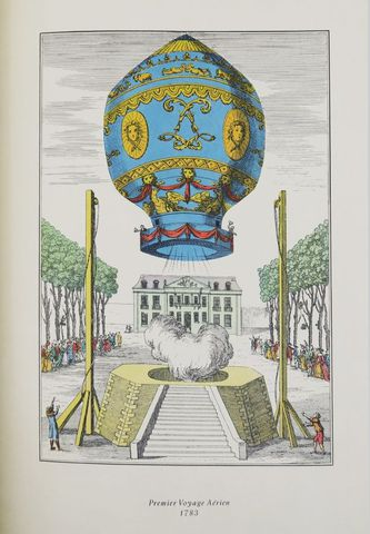 Aérostation. Ballons. sl, Éditions du chêne, 1959. In-folio broch...
