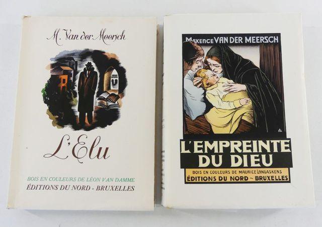 Van der MEERSCH (Maxence). L'élu. Bois en couleurs de Léon Van DA...