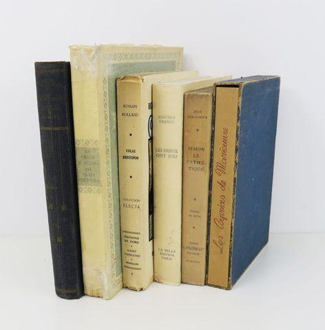 Lot. Ensemble 6 volumes:  - MUSSET (Alfred de), Les Caprices de ...