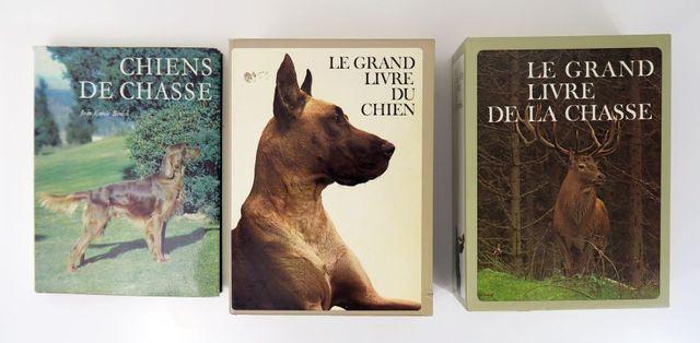 Collection Le Grand Livre. - Le grand livre du chien. 2 volumes i...