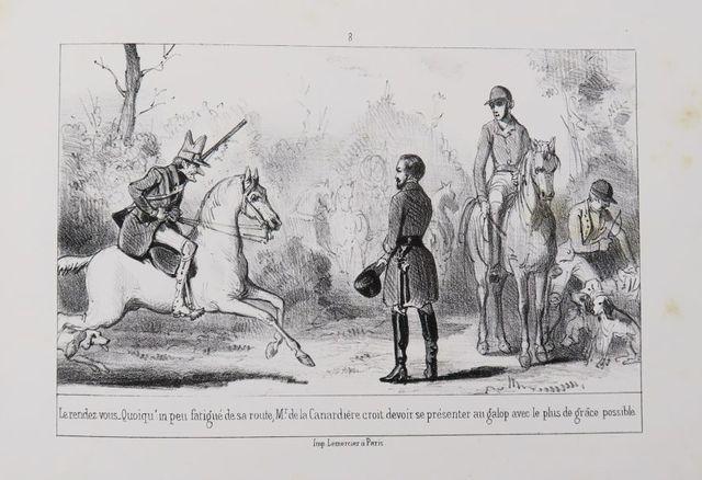 EMY (Henry). M. de La Canardière ou les Infortunes d'un chasseur,...