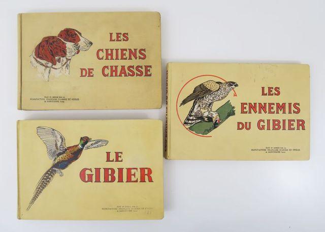 [Manufacture de Saint-Etienne]. Ensemble de 3 ouvrages:  - Les C...