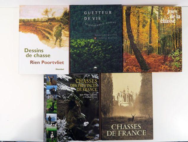 Lot. Ensemble de 5 beaux ouvrages modernes:  - DUBOIS (E.), Chas...