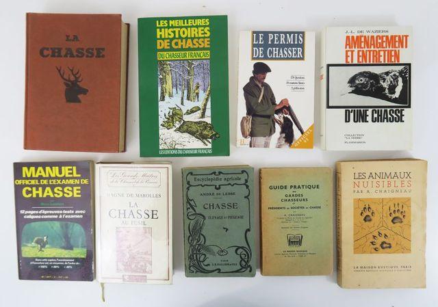 Lot. Ensemble de 9 volumes in-8 cartonnés ou brochés:  - VILLENA...