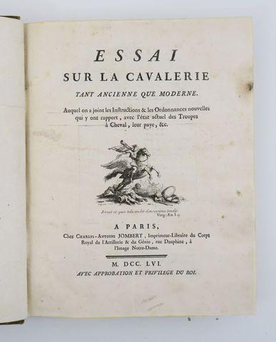 [AUTHVILLE DES AMOURETTES (Charles Louis d')]. Essai sur la Caval...