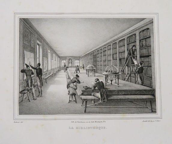 RICHOUX (L.). Album des élèves de l'École royale spéciale militai...