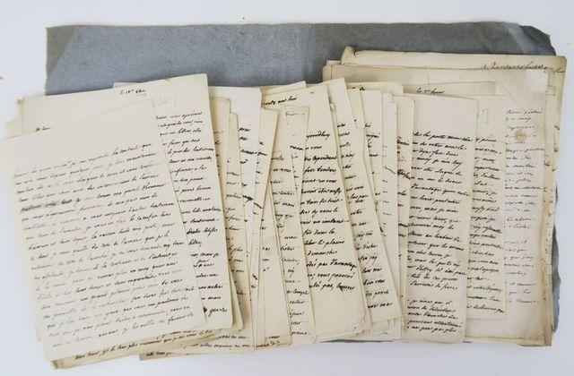 [ARGENSON (Marc-René de Voyer marquis d')]. Correspondance galant...