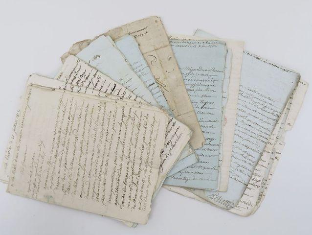 [BARTHE (Bertrand)]. 27 lettres autographes signées de Bertrand B...