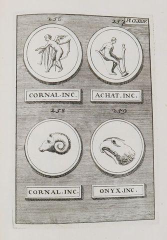 Cabinet de pierres antiques gravées. ou collection choisie de 216...