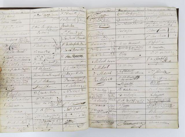 [Collège Dramatique et Lyrique d'Amsterdam - Manuscrit]. Exceptio...