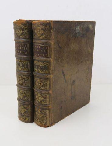 Droit - PEREZ (Antonio). Praelectiones in duodecim libros Codicis...