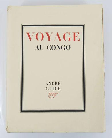 Afrique - GIDE (André). Voyage au Congo suivi du retour du Tchad ...