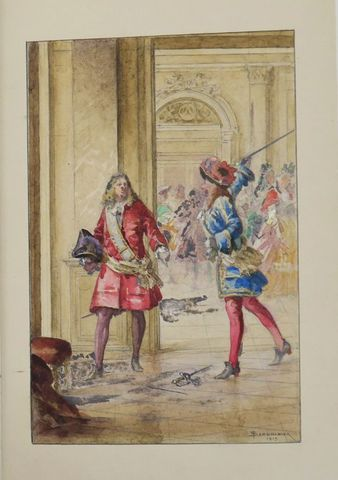 LA FORCE (Auguste, Duc de). Lauzun. Un Courtisan du Grand Roi. Pa...