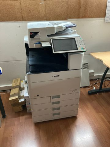 PHOTOCOPIEUR MULTIFONCTIONS CANON C5535i SERIE WHR21999 (VENTE VO...