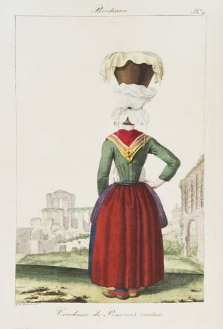 GALARD (Gustave de). Recueil de divers costumes des habitans de B...