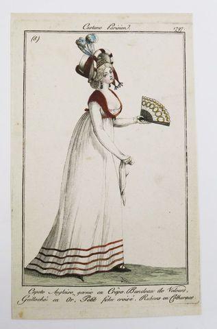 Journal des Dames et des Modes. Important ensemble de 1730 gravur...
