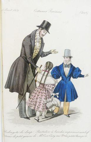 LA MESANGERE (Pierre de). Journal des Dames et des Modes; Costum...