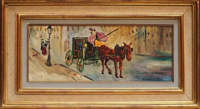 Gérard GERVAIS (1931-2011) Camaret Huile sur toile signée en bas ...
