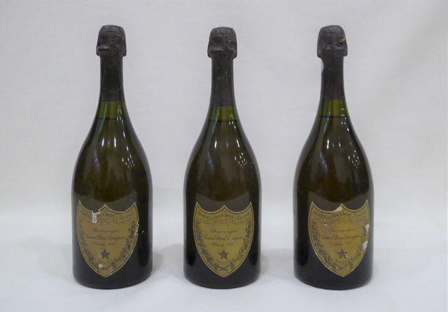 Lot de 3 bouteilles CHAMPAGNE Moët & Chambon Cuvée