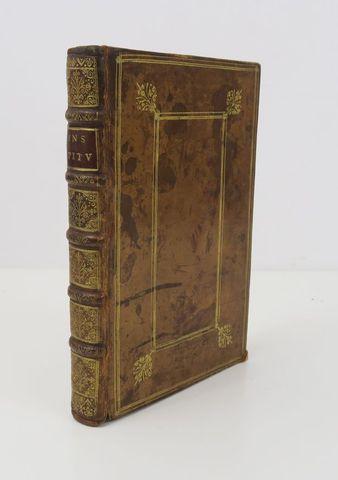 JUSTINIEN. Institutionum Fl. Justiniani Caesaris libri IIII. Pari...
