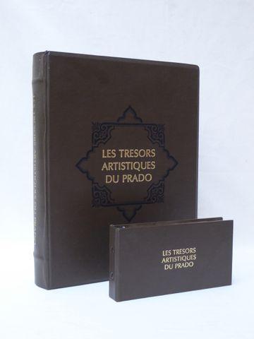 LES TRESORS ARTISTIQUES DU PRADO, 1984 Coffret de 50 médailles en...