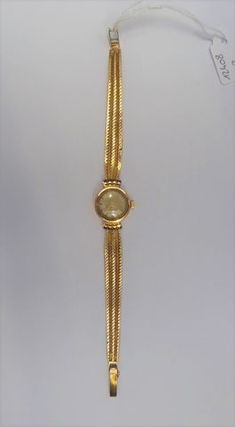 Montre or jaune  Pds 19 grs