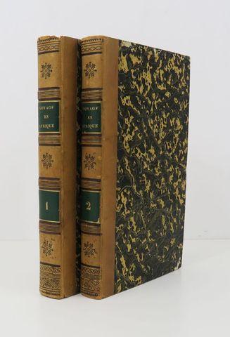 Afrique - MOLLIEN (Gaspard Théodore, Comte de). Voyage dans l'int...