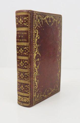 Manuscrit. Recueil de prières. Sl, sd. In-12 de 444 pp. manuscrit...