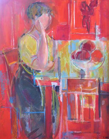 Paul MARS (1905-1981) Femme assise Huile sur panneau SBD 90 x 70 ...