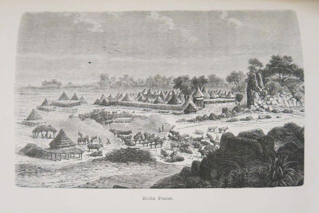 Afrique - SCHWEINFURTH (George). Au cœur de l'Afrique. 1868-1871....