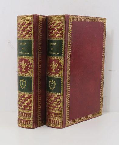 CREBILLON (Prosper Jolyot de). Oeuvres de Crébillon, édition orné...