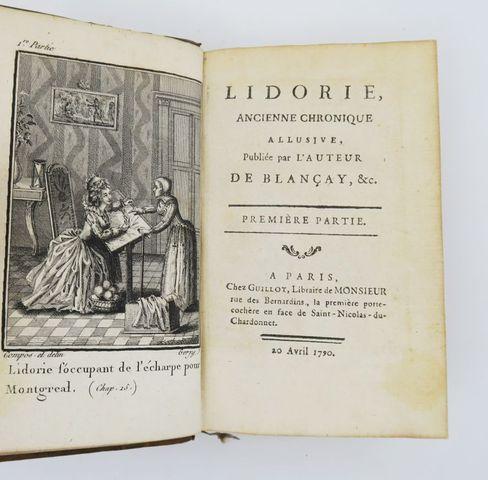 [GORJY (Jean-Claude)]. Lidorie, ancienne chronique allusive, publ...