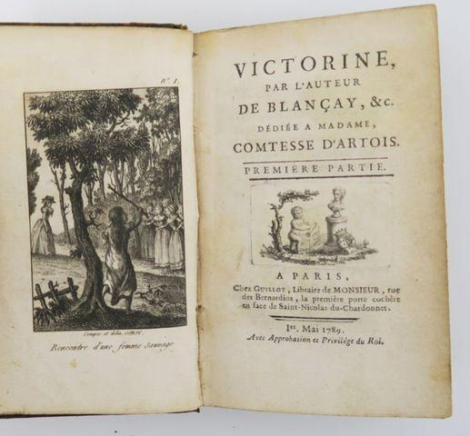 [GORJY (Jean-Claude)]. Victorine, par l'auteur de Blançay, &c. Pa...